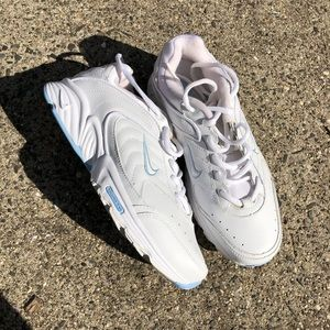 Nike White Rolling Rail Sneakers